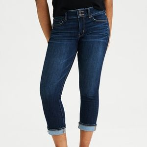 🍁 AE Ne(x)t Level Artist Crop Stretch Jean